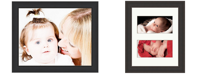 !0 x 8 inch frame with single image and double image
