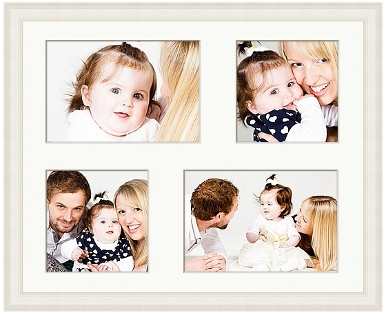 16 x 12 inch frame with four images 2x 9x6 + 2x 6x6