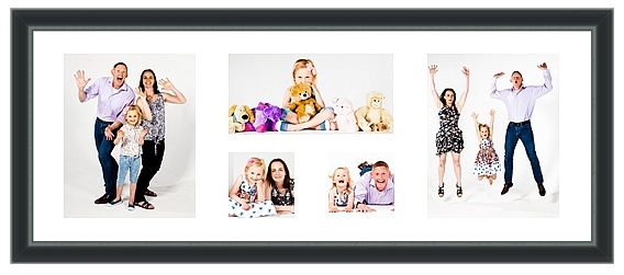 Framed Print, with Multiple Images